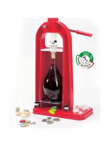 Коркувальниця універсальна настільна для винних і пивних пляшок