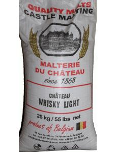 Бельгійський солод для віскі Chateau Whisky 35PPM 1кг