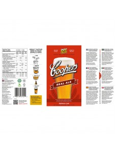 Coopers солодовий екстрактз хмелем REAL ALE 1,7 кг