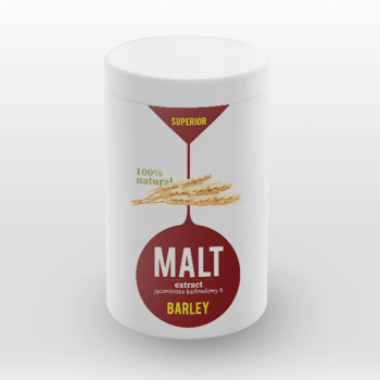 Superior Солодовий екстракт Malt Extract Barley (ячмінь) карамельний, 1300мл_1,5кг