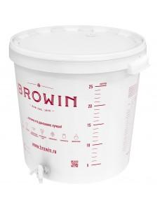 Biowin ємність бродітельная з краном 30л, RU