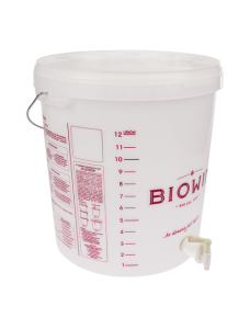 Biowin Ємність для бродіння з краном, 15 л