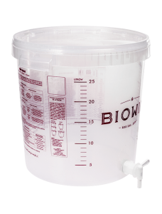 Biowin ємність бродильна прозора з краном, 30 л.