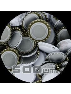 Пивная пробка, белая (EU), 500шт.