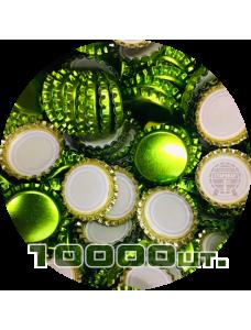Пивная пробка, зеленая/лайм (EU), 10000 шт.