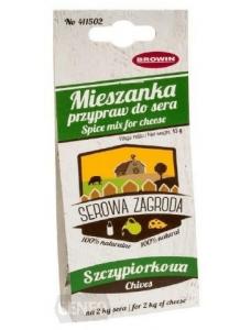 Зелена цибуля - суміш спецій для сиру