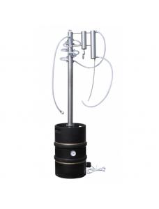 Дистиляційний апарат електричний з ректифікаційної колоною