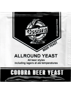 Coobra дріжджі для пивоваріння ALLROUND YEAST