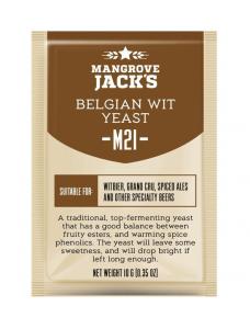 Дріжджі Mangrove Jack's Belgian Wit Yeast M21