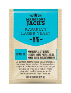 Дріжджі Mangrove Jack's Bavarian Lager M76