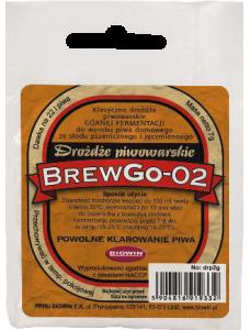 BIOWIN сушені дріжджі для пивоваріння верхньої ферментації Ale