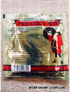 Prestige Дріжджі для віскі WD
