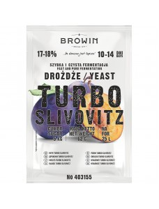 Biowin Дріжджі TURBO Slivovitz (Сливовиця)