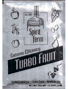 SpiritFerm Дріжджі спиртові Turbo Fruit для фруктових браг