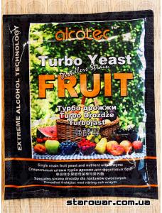 Alcotec Дріжджі спиртові Turbo Fruit для фруктових браг