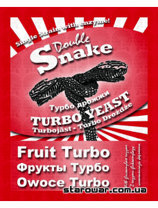 Snake Дріжджі спиртові Turbo Fruit для фруктових браг