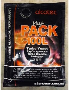 Alcotec Дріжджі спиртові Turbo MegaPack на 100л