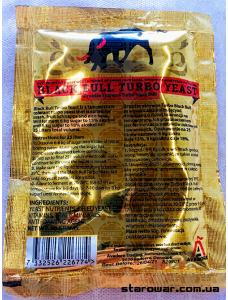 Prestige Дріжджі спиртові Турбо Black Bull