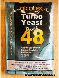 Alcotec Дріжджі спиртові 48TURBO Pure