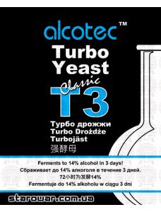 Alcotec Дріжджі спиртові T3 Turbo Classic