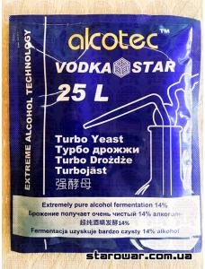 Alcotec Дріжджі спиртові Vodka Star