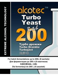 Alcotec Дріжджі спиртові 200 Turbo Yeast Batch