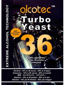 Alcotec Дріжджі спиртові 36 Turbo Yeast