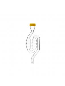 Гідрозатвор пластиковий, 6-камерний із захисною кришкою і пробкою