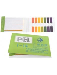 Індикаторна папір pH для вина - лакмусовий, 80шт.