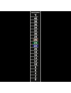 Bioterm термометр рідкокристалічний 0 ° C - 40 ° C