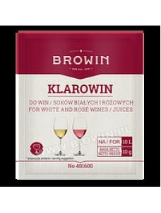 Biowin Klarowin 10 г - для освітлення рожевого і білого вина