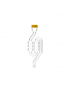 Гідрозатвор пластиковий, 6-камерний із захисною кришкою