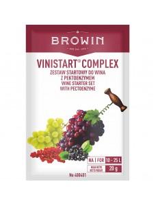 Biowin Vinistart Complex Набір стартовий для вина з ферментами, 20г
