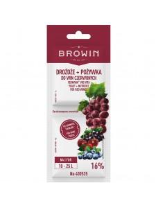 BIOWIN Дріжджі + живильне середовище для червоних вин Fermivin VR5 VITA