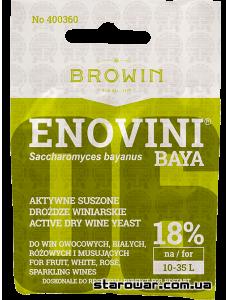 BIOWIN сухі винні дріжджі Enovini Baya універсальні